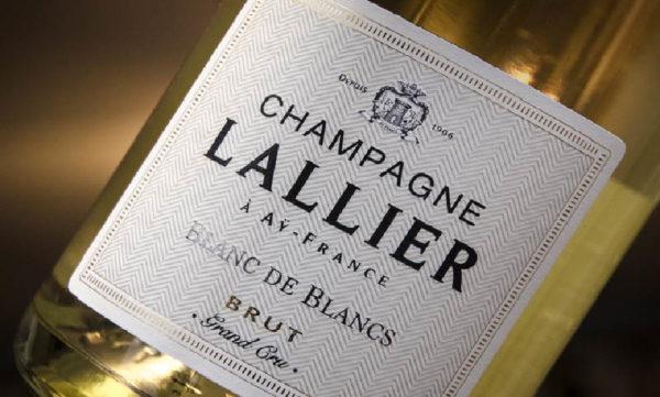 Grand Cru Champagne Lallier Blanc De Blanc