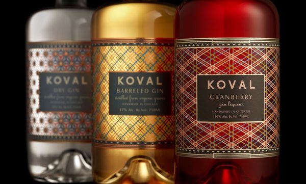 Koval Whiskey And Gin