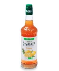 Bigallet Organic Lemon Syrup