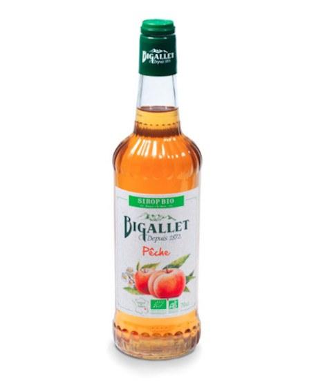 Bigallet Organic Peach Syrup