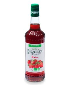 Bigallet Organic Strawberry syrup