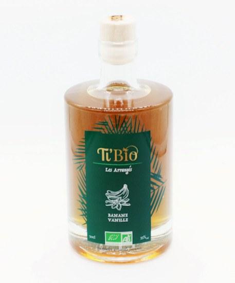 Ti'bio Organic Rum Arrangés Banane Vanille