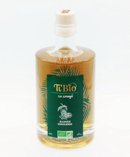 Ti'bio Organic Rum Arrangés Mango-Ginger