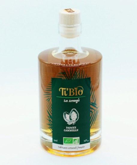 Ti'bio Organic Rum Arrangés Papaya-canella